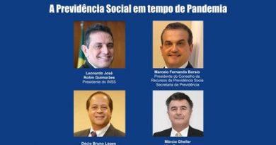 Previdência Social em tempo de pandemia é tema da Live Série ANFIP do dia 12/5
